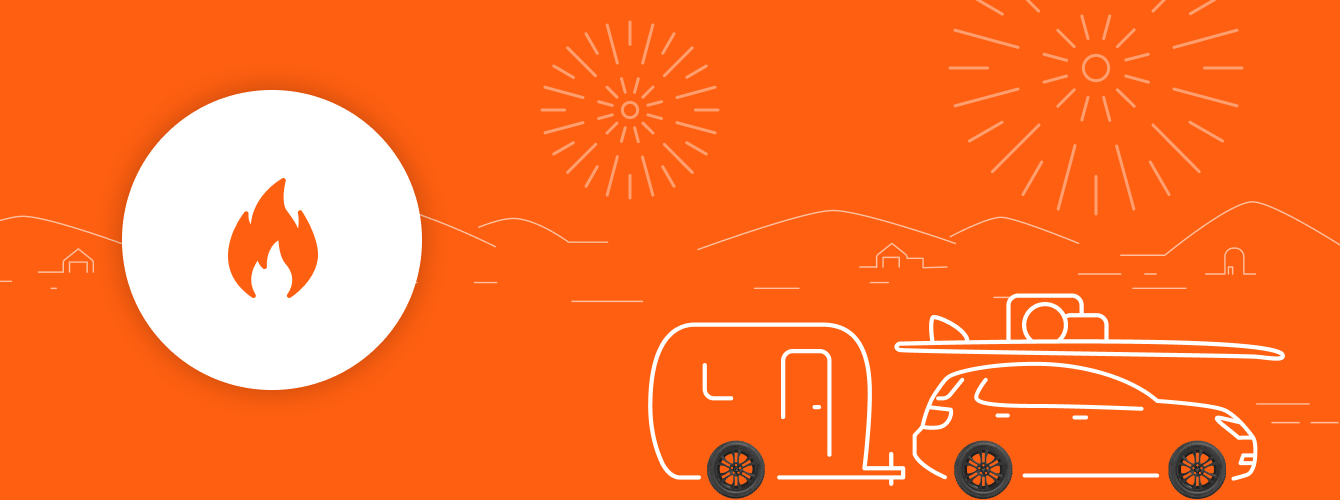 Take up to 40% off on thousands of tires during our July 4th sale!
