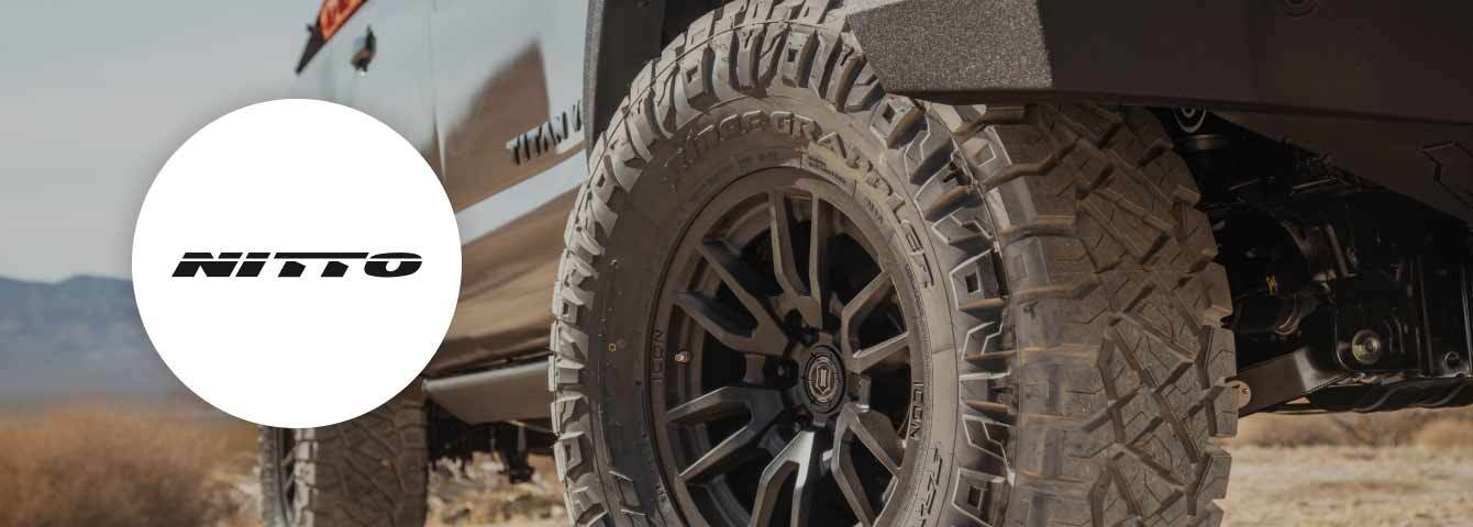 Save up to $80 on installation with Nitto with the purchase of 4 tires