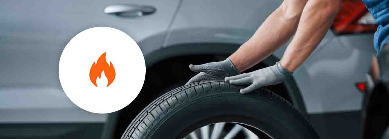Protect your tires - save 10% on tire replacement coverage with the purchase of 4 tires