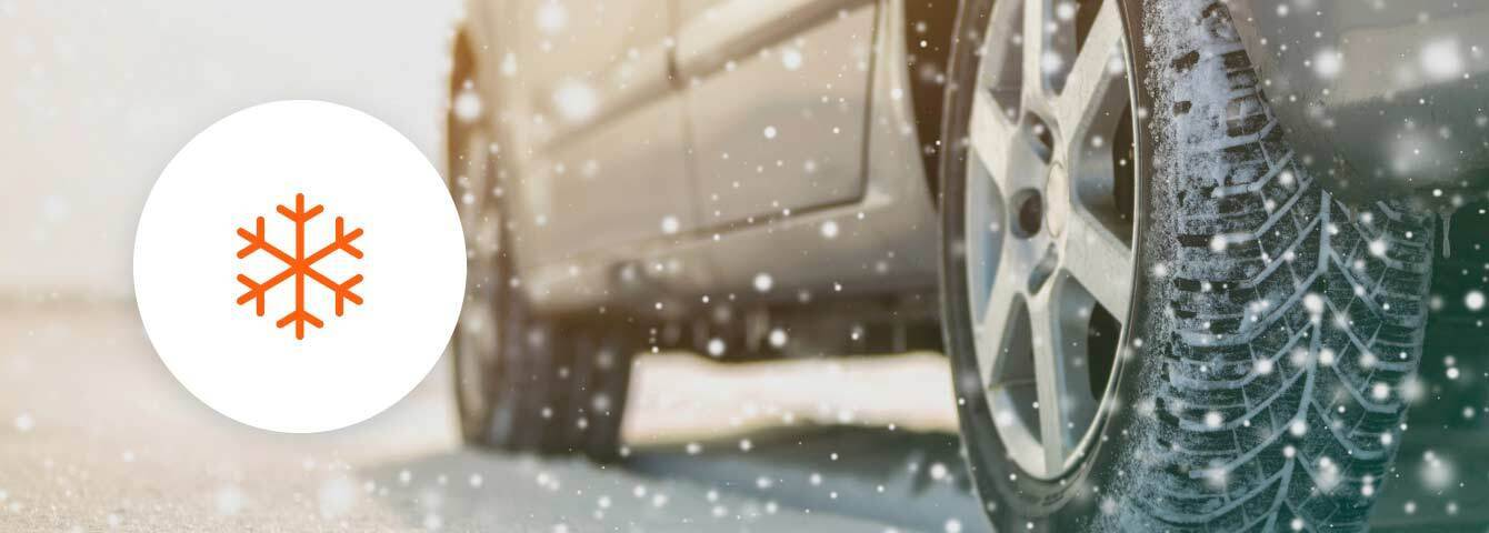 Save up to 40% on Winter tires